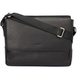 Roble: Laptop Satchel in Soft Leather
