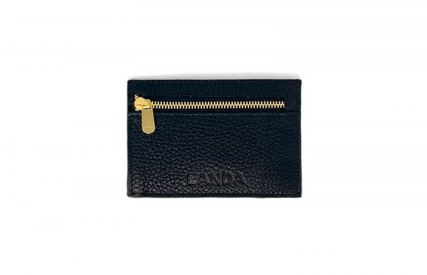 Slim Wallet with Coin Zipper